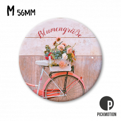 Pickmotion M Magnet Blumengrüße Fahrrad