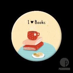 Pickmotion M Magnet I Love Books