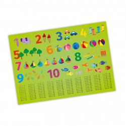 Kinder Lernposter 123