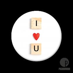 Pickmotion M Magnet I Love U