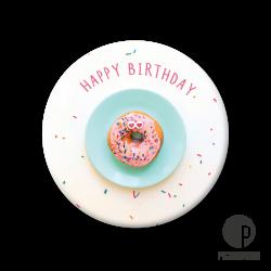 Pickmotion M Magnet Happy Birthday, Donut
