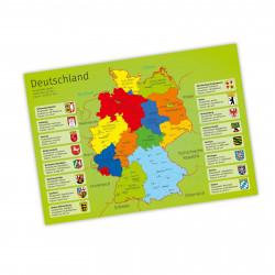 Kinder Lernposter Deutschland A1/ A2/ A3