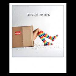 Pickmotion Photo-Postkarte Alles Gute Zum Umzug