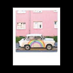 Pickmotion Photo-Postkarte Farbrausch