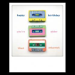 Pickmotion Photo-Postkarte Cassette-Day