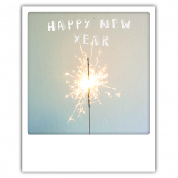 Pickmotion Photo-Postkarte Happy New Year