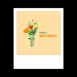 Pickmotion Kleine Postkarte Happy Birthday