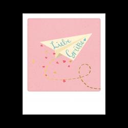Pickmotion Kleine Postkarte Liebe Grüße