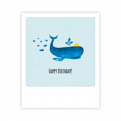 Pickmotion Kleine Postkarte Happy Birtday!