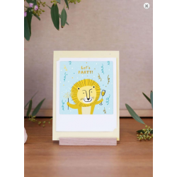 Pickmotion Kleine Klappkarte Happy Birthday (gelb)