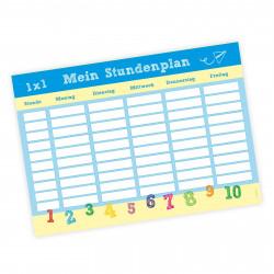 A4 Stundenplan Schulkind - beidseitig bedruckt