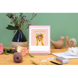 Pickmotion Kleine Klappkarte Happy Birthday! (gelb)