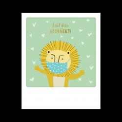 Pickmotion Kleine Postkarte Fühl Dich Gedrückt
