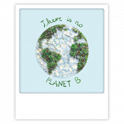 Pickmotion Photo-Postkarte There Is No Planet B