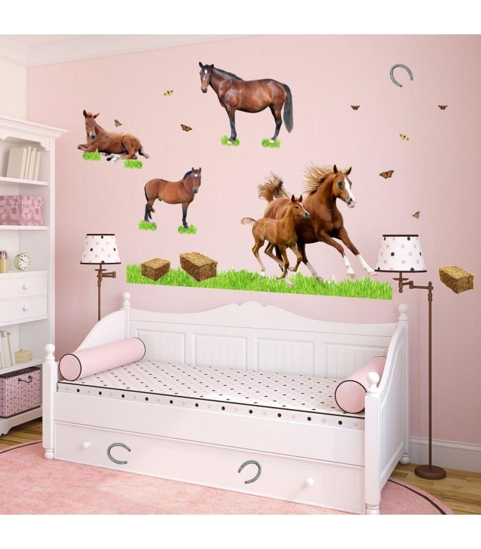 pferde poster kinderzimmer ber ideen zu pferde wandkunst
