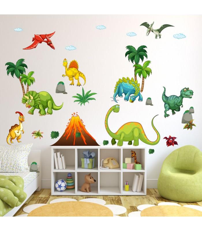 wandtattoo dinosaurier reuniecollegenoetsele. Black Bedroom Furniture Sets. Home Design Ideas