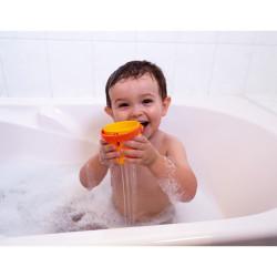 Janod Badespielzeug Wasserlauf-Eimer 5 Stück