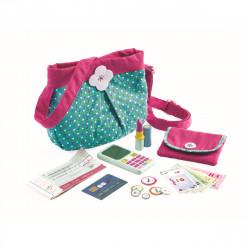 DJECO Kinder Handtasche mit Accessoires