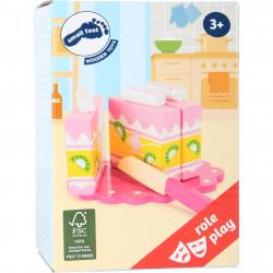 SMALL FOOT Schneidekuchen Kuchen 5 Teile
