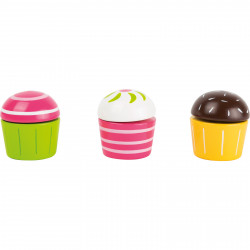 SMALL FOOT Schneide Cupcakes Muffins 6 Teile