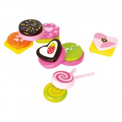 SMALL FOOT Süßigkeiten aus Holz 14 Teile