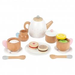 SMALL FOOT Teeservice mit Keksen Kinderküche Tassen