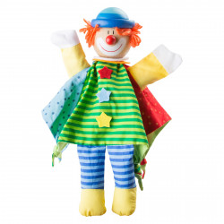 SMALL FOOT Handpuppe Clown