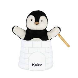 KALOO Gabin Pinguin Versteckt Handpuppe