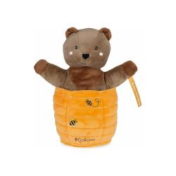KALOO Ted Bär Versteckt Handpuppe