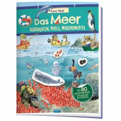 TRÖTSCH Stickerbuch - Das Meer