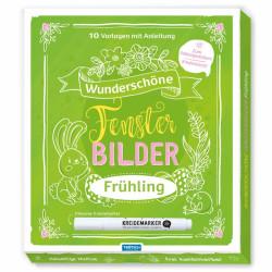 TRÖTSCH Fensterbilder Vorlagen - Frühling/Oster Set