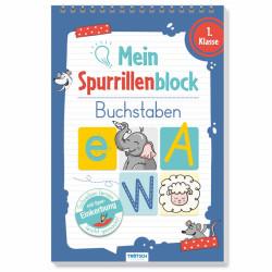TRÖTSCH Spurrillenblock - Buchstaben