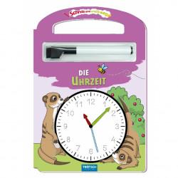 TRÖTSCH Die Uhrzeit - Schreib und Wisch Weg mit Stift