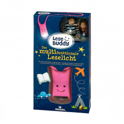 MOSES Lese Buddy- Das multifunktionale Leselicht pink