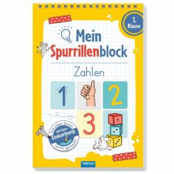 TRÖTSCH Spurrillenblock - Zahlen