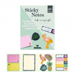 MOSES Sticky notes Büchlein- Life is a Jungle