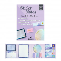 MOSES Sticky notes Büchlein- Reach for the Stars