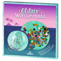 MOSES Glitzer Wasserball