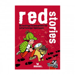 MOSES Black Stories Junior- Red Stories