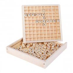 "SMALL FOOT Wörter legen ""Educate"" Buchstaben Holz"