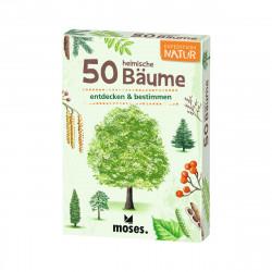 MOSES Kartenspiel- Expedition Natur - 50 heimische Bäume