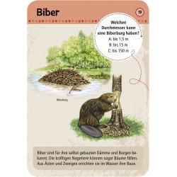 MOSES Kartenspiel- Expedition Natur - 50 Tierspuren