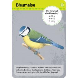 MOSES Kartenspiel- Expedition Natur - 50 heimische Tiere in Stadt & Garten