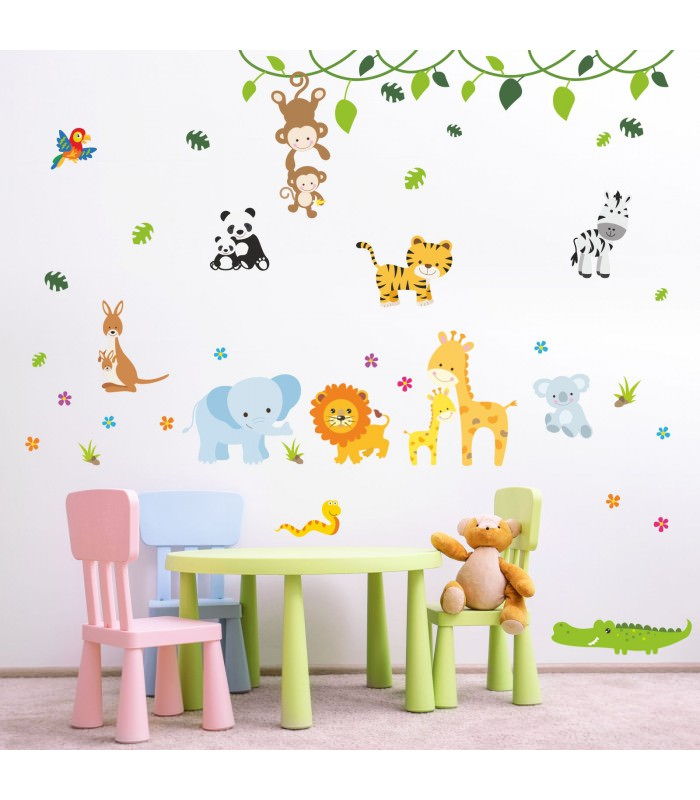 fantastisch wandtattoo kinderzimmer elefant bilder die besten wohnideen. Black Bedroom Furniture Sets. Home Design Ideas