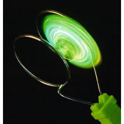 MOSES PhänoMint Leutender LED- Magnetkreisel- grün