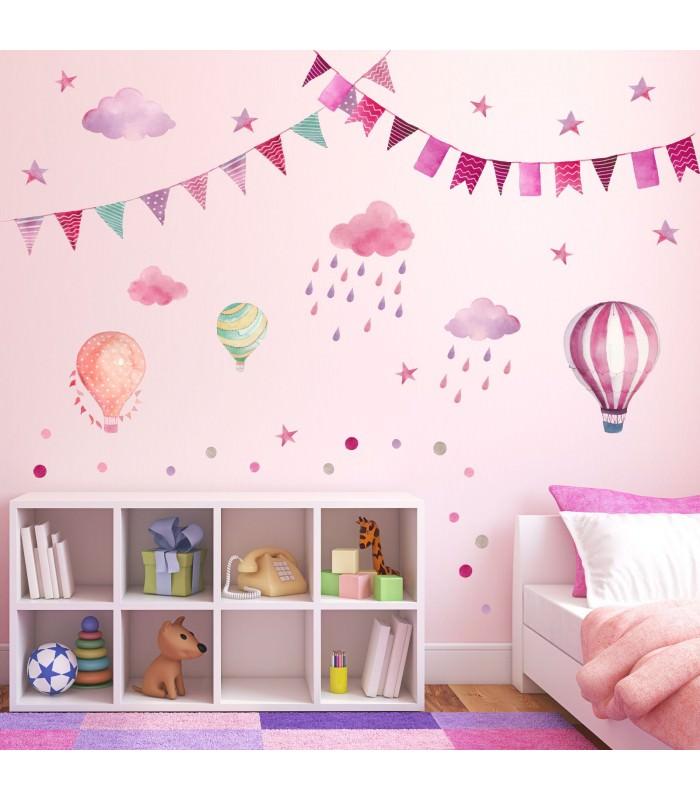 wandtattoo ballon prinsenvanderaa. Black Bedroom Furniture Sets. Home Design Ideas