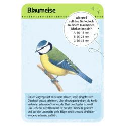 MOSES Kartenspiel- Expedition Natur - 50 heimische Vögel