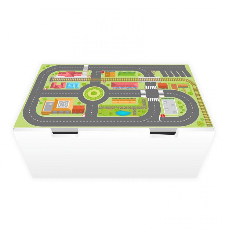 Spielfolie für STUVA Stadtleben (Möbel nicht inklusive)