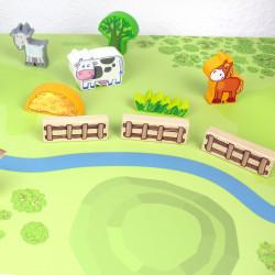 Spielfolie für STUVA Wald & Wiese (Möbel nicht inklusive)