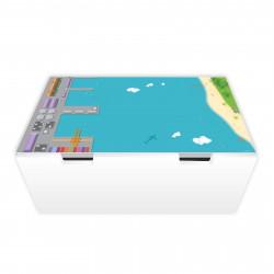 Spielfolie für STUVA Hafen und Insel